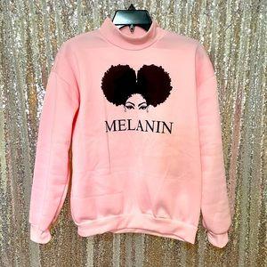 Pink Melanin Sweatshirt